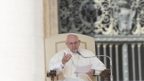 Pope Francis said allowing priests in training to choose whether or not to be celibate was 'not the solution'