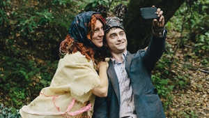 Say Swiss cheese: Paul Dano and Daniel Radcliffe in Swiss Army Man.