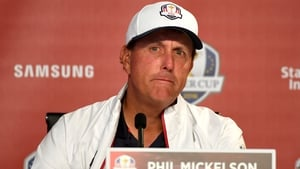 Mickelson has praised the US team's preparations for this week's Ryder Cup