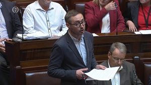 Sinn Féin TD Eoin Ó Broin launches party's Private Members motion to abolish water charges