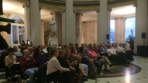 The forum was held at Dublin's City Hall