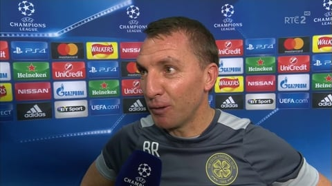 "UEFA Champions League: Brendan Rodgers - ""It was a delight"""