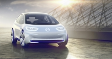 Volkswagen's I.D. is due to be produced in 2020 and has a claimed range of between 400 and 600 kilometres on a single charge of its electric battery.