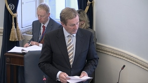 Enda Kenny said while the country had many reasons to be positive about the future