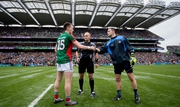 Rival captains Cillian O'Connor and Stephen Cluxton
