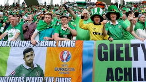 The Republic of Ireland fans earned widespread praise for their behaviour in France