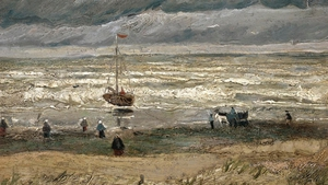 One of the recovered works: View of the Sea at Scheveningen (Pic: Van Gogh Museum, Amsterdam)