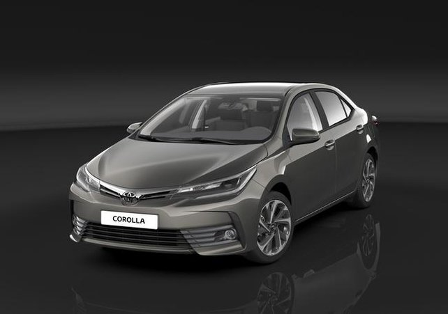 Toyota's new Corolla for next year.
