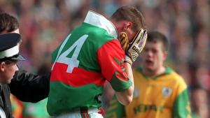 It was a case of so near and yet so far for John Casey and Mayo in  the 1996 final