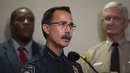 El Cajon Police Chief Jeff Davis addressed a press conference