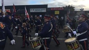 Orangemen from three lodges were given permission to march along the contested stretch from 8.30am