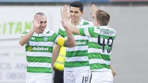 Scott Brown got the Celtic winner just after half time