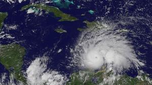 Hurricane Matthew is currently in the Caribbean Sea