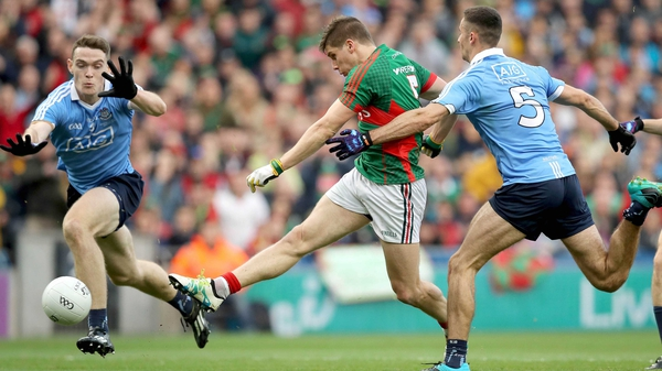 Lee Keegan in action against Dublin in this year's All-Ireland final
