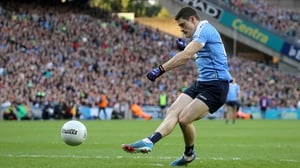 Diarmuid Connolly slots home Dublin's penalty