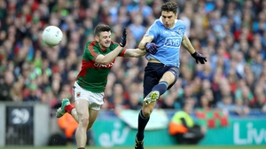 Bernard Brogan kicked a point after coming on for Dublin