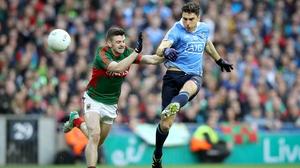 Bernard Brogan came on and added to Dublin's tally
