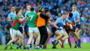 There were a number of flashpoints in the All-Ireland final replay