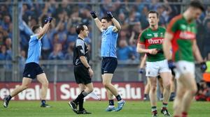 Full time brings Dublin joy and Mayo despair