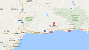 A gas cylinder exploded in a cafe in the Spanish town of Velez-Malaga on the southern coast (Pic: Google Maps)