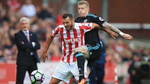 James McClean was booed relentlessly by the Sunderland fans