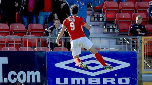 Christy Fagan opened the scoring for the Saints