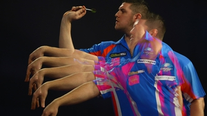 Daryl Gurney has recovered from a broken bone in his throwing hand