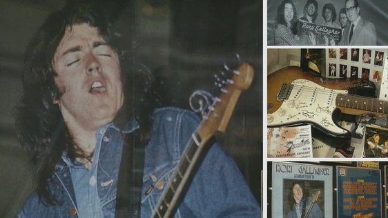 Rory Gallagher Exhibition in Ballyshannon 2001