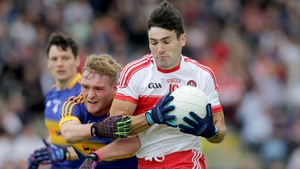 Danny Heavron scored four points in Derry's defeat to Tipperary