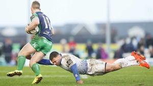 Connacht's Matt Healy and Fergus McFadden of Leinster both miss out this weekend