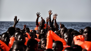 Migrants from sub-Saharan Africa were rescued