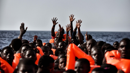 More than 6000 migrants rescued from sea off Libya