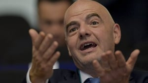 Gianni Infantino: 'They are ideas which we put forward to see which one is the best'