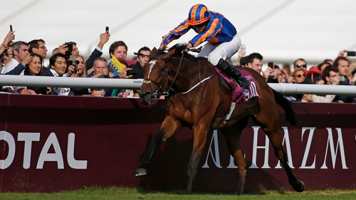 Ryan Moore steers Found home at Chantilly