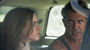 Erin Moriarty and Mel Gibson in Blood Father