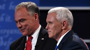 Tim Kaine and Mike Pence both came out swinging