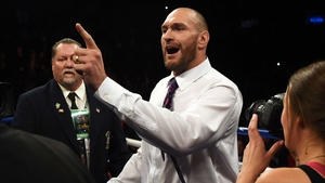 Tyson Fury is 'coming back to take on all bums'