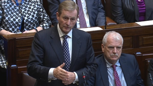 Enda Kenny said it would be utterly unacceptable if whistleblowers were not treated properly