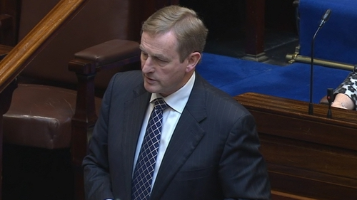 Enda Kenny said the deal would be accompanied by a declaration that it would not affect public services, labour rights or environmental protection