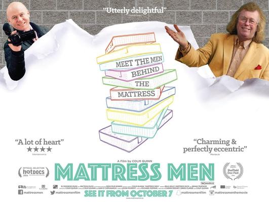 """Colm Quinn, director of """"Mattress Men"""""""
