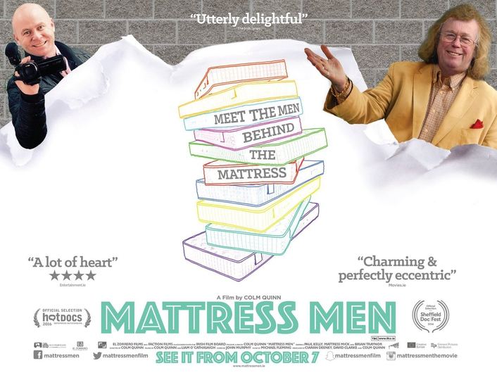 "Colm Quinn, director of ""Mattress Men"""