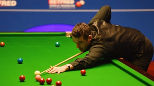 Ronnie O'Sullivan will face either Mark Davis or Liang Wenbo in the quarter-finals.