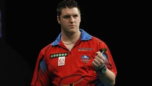 Daryl Gurney is out