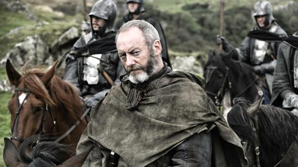 Liam Cunningham as Ser Davos in Game of Thrones