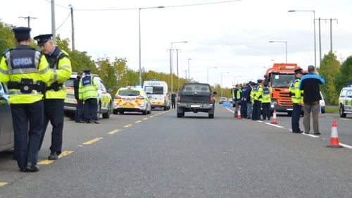 Sixtycheckpoints were carried out over the course of the day