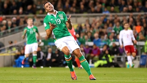 Jon Walters rues a missed opportunity against Georgia