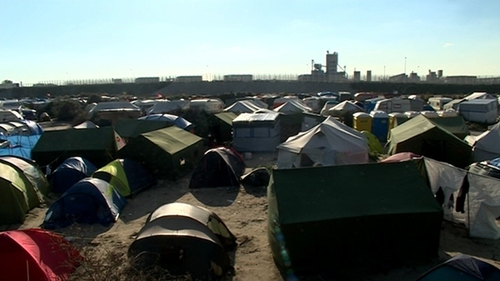 Hundreds of children were affected by the dismantling of the unofficial refugee camp in Calais known as the 'Jungle'
