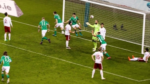 Seamus Coleman moments after his goal