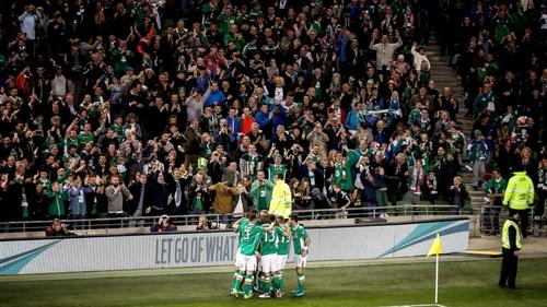 The former Sligo Rovers man savours his first Irish goal