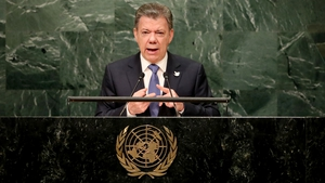 Juan Manuel Santos has promised to revive to peace plan